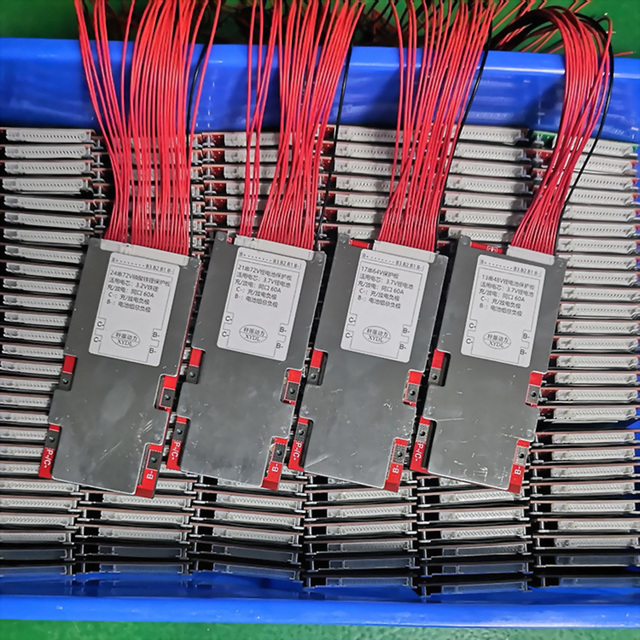 7S 24V 13S 48V 16S 17S 60V 64V 20S 21S 72V 10S 50A Li ion Lipo Battery Protection Board 18650 Packs BMS PCM eBike High Current