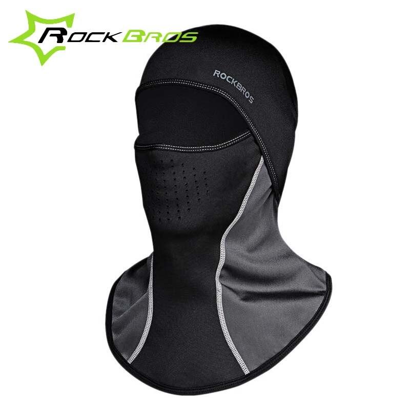 Rockbros Cycling Mask Winter Windproof Thermal Fleece Sports Outdoor Running Bike Bicycle Ski Balaclava Face Mask Headwear Cap все цены