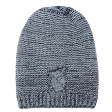 IANLAN 2019 New Mens Winter Outdoor Cap Hat Thick Fleece Liner Earmuffs Beanie Fashion Men Knitted Wool Long Caps IL00064