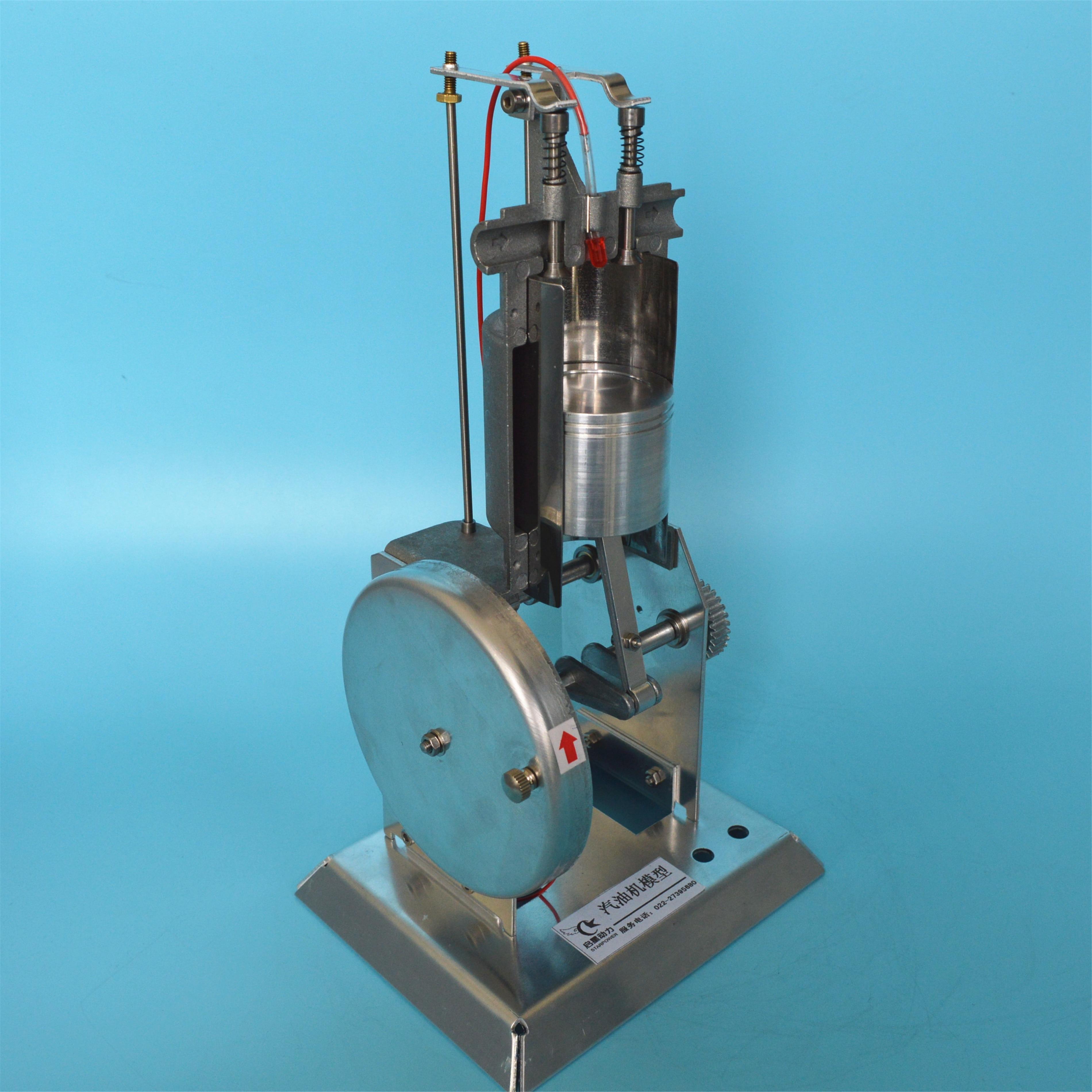 J31008 단일 실린더 내연 기관 4 행정 가솔린 금속 엔진 모델 물리학 실험 교육 장비-에서부품 & 액세서리부터 완구 & 취미 의  그룹 1