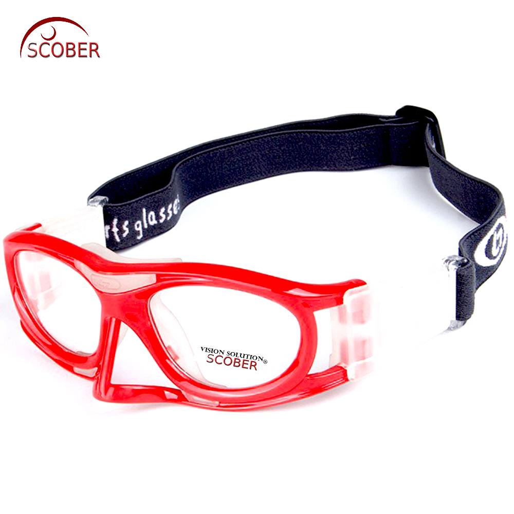 Colorful Color Professional Basketball Glasses Football Sport's Glasses Goggles Eye Frame Match Optical Lens Myopia Nearsighted