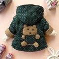 Meninos e meninas de inverno acolchoado jaqueta casaco de crianças casaco bebê casaco menina casaco