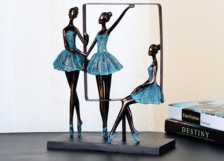 ... Accessories For House Decoration And Present Elegant Minimalist  Abstract Ballet S Dancer Sculpture Resin