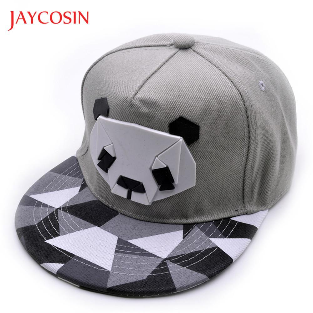 JAYCOSIN baseball cap Casual hat Womens popular Sports Baseball Panda Cap Snapback Golf ball Hip-Hop Hat FEB7
