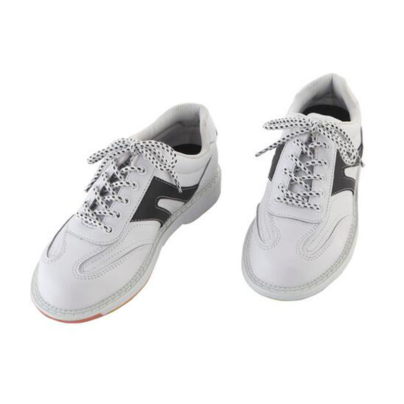 ФОТО Black and white bowling shoes essential advanced with sports shoes high quality couple models men for large size sneakers shoes