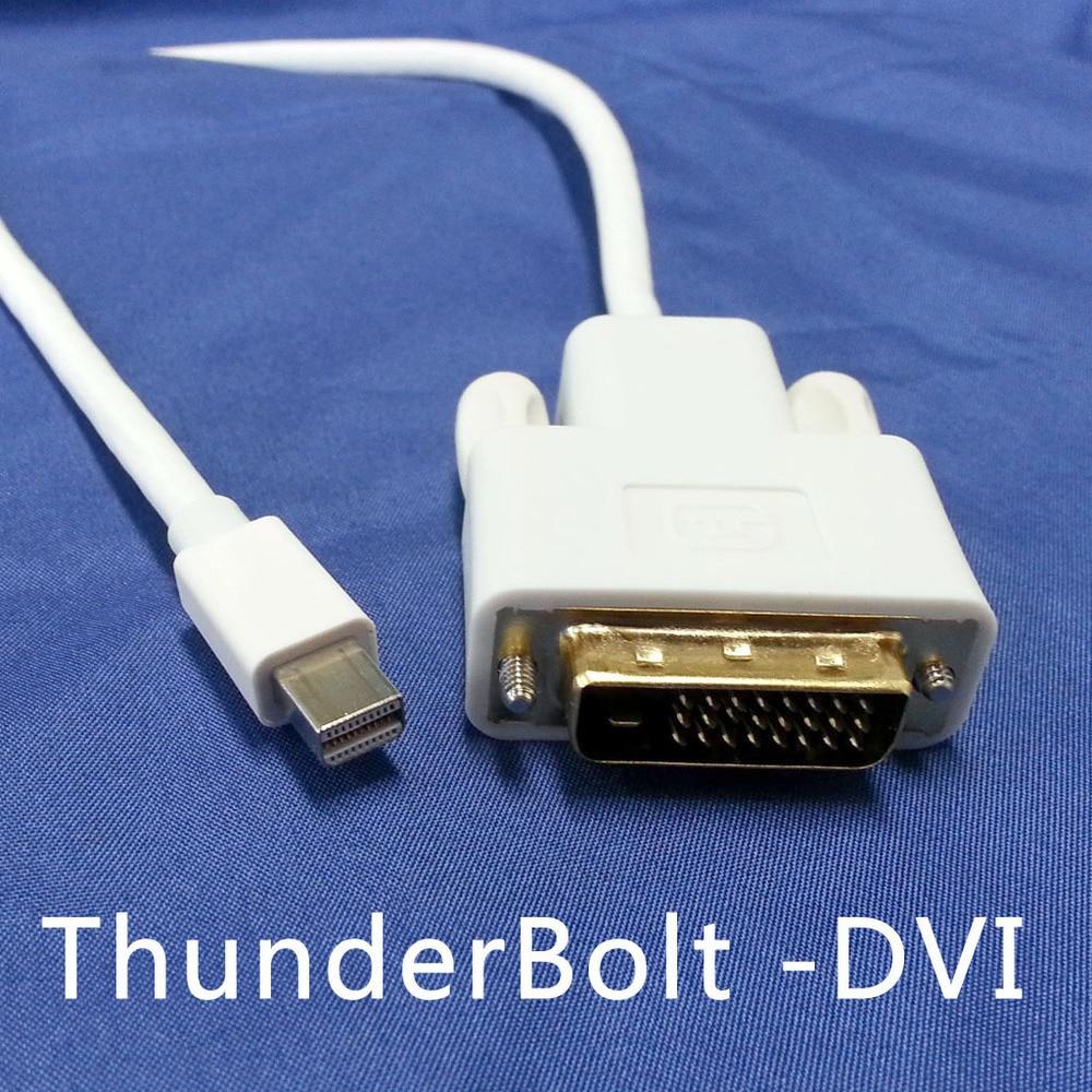 TB 013 1.8M Wholesale Thunderbolt port/Mini DisplayPort to DVI DVI D ...