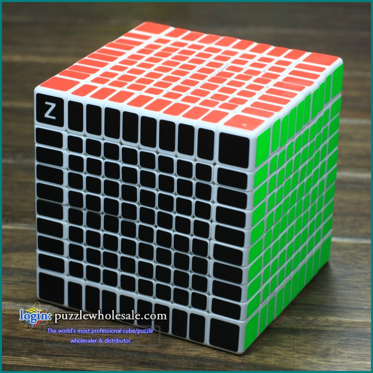 New!! Shengshou 10x10x10 Speed Cube Puzzle Z-Bright new mf8 eitan s star icosaix radiolarian puzzle magic cube black and primary limited edition very challenging welcome to buy