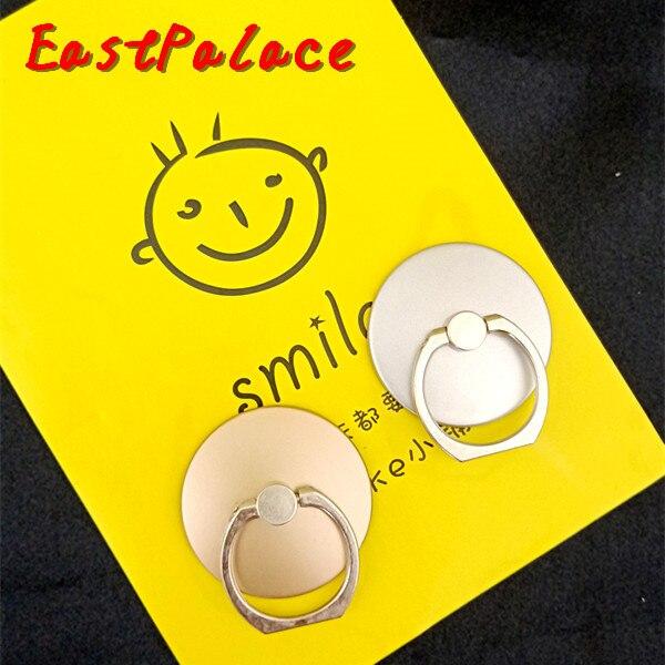 Сотовый телефон 360 палец кольцо сцепление Магнитная для huawei p8 lite samsung s8 стенд держатель браслет круглый острые стент подарки 100 шт.