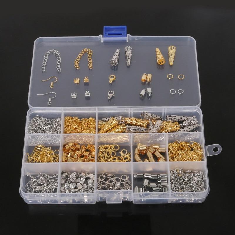 Aliexpress buy diy jewelry findings kit bead caps