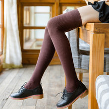 5597b2fda Women Knitting Over Knee High Socks Solid Thicken Hosiery Casual Sexy Long  Stockings 2018 Winter Female
