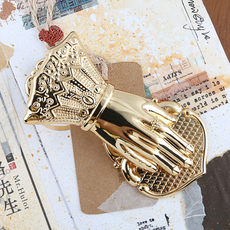 Vintage Travelers Notebook Accessories Ladys Hand Shaped Book Clip Planner Decoration Gold Metal Paper Clips Retro StationeryVintage Travelers Notebook Accessories Ladys Hand Shaped Book Clip Planner Decoration Gold Metal Paper Clips Retro Stationery