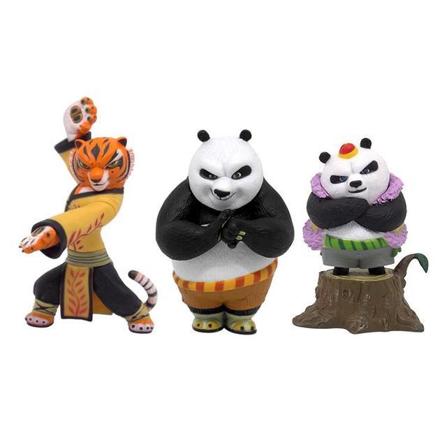 Nouveau 1 pcs Officiel 2016 Film Kungfu Kung Fu Panda 3 Panda Po Poupée  Action Figure 9254dc8258c