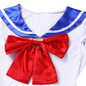 Image 5 - High Quality Japan Sailor Moon Cosplay Costume Moon Dress For Adult Fancy Halloween Fancy Sexy Carnival Costume Dress