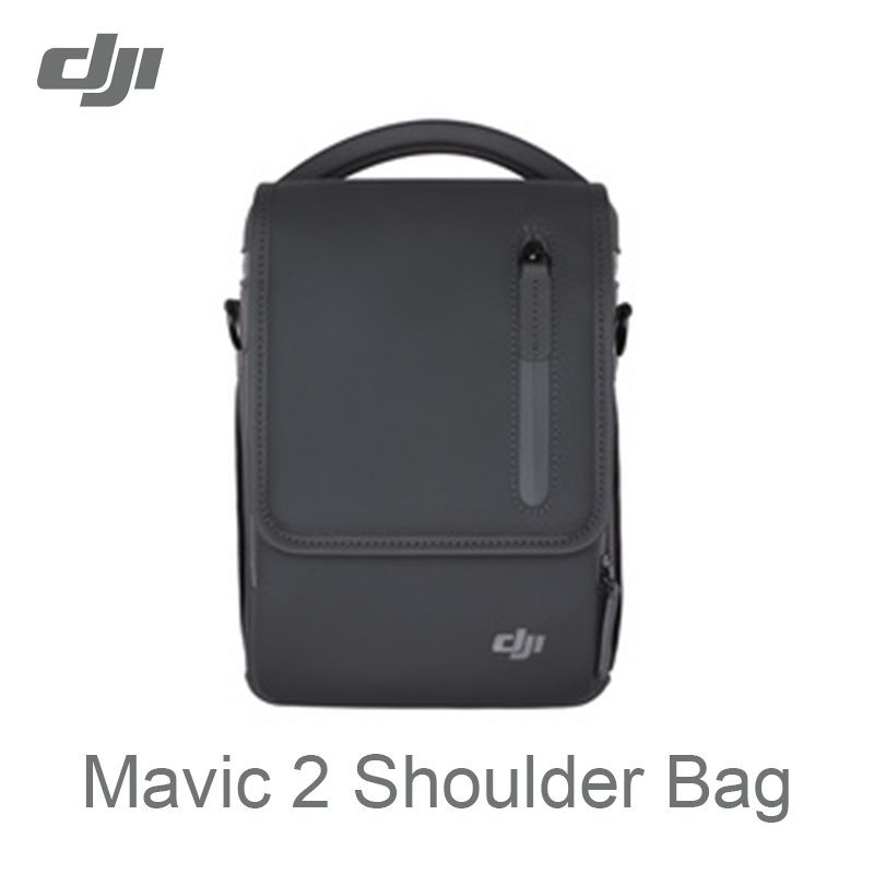 DJI Mavic 2 Shoulder Bag Portable Case Carries Everything in the Fly More Kit for Mavic 2 Pro / Mavic 2 Zoom pgytech dji mavic 2 bag hardshell shoulder bag carrying case for dji mavic 2 pro zoom fly more combo case portable