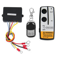 Marsnaska Hot Sale Winch DC 12V Remote Control 2 sets Wireless Winch Remote Control Kit DC 12V 50 Feet for Jeep Truck SUV ATV