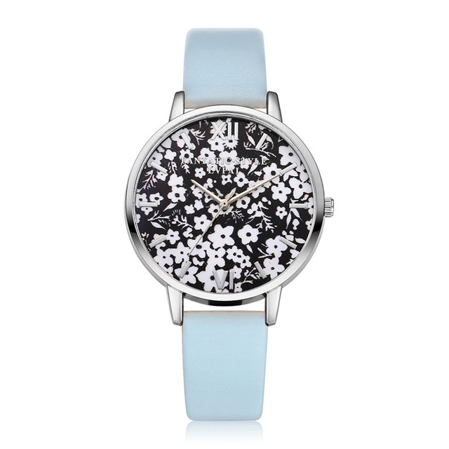 New Arrive Lvpai Famous Brand Vintage Silver Flowers Quartz WristWatches Women Bracelet Watch Dress Watches Christmas Gift Clock