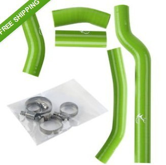 Silicone Radiator Hose Kit For Yamaha YZF 250 YZF250 2006 5PCS/A SET GREEN NEW