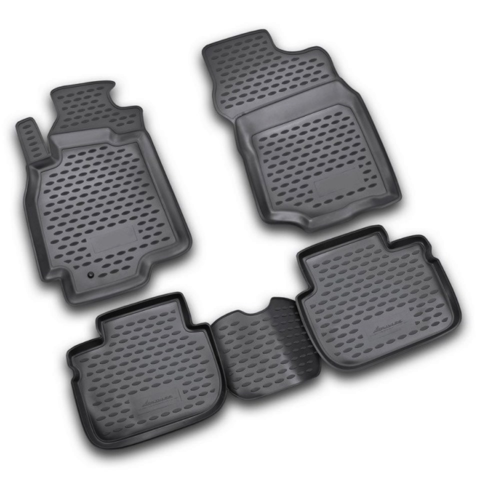 ⑧For Mitsubishi Lancer 9 2003-2007 floor mats into saloon 4 pcs ...