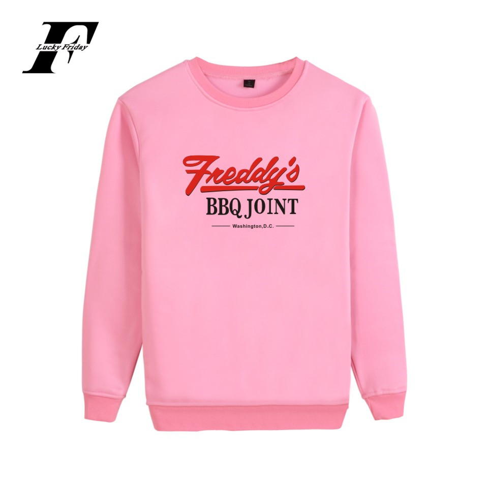 House Of Cards Sweatshirt Underwood 2016 Hoodie Funny Print Oversized Women Hoodies Sweatshirts Pink Fashion Girls