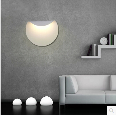 Aluminum Modern Simple LED Wall Lights Bedside Lamp Fixtures For Bar Home Living Lightings Wall Sconce Arandela Lampara Pared new design nature white 2heads 6w 30cm led modern crystal wall lights lamp sconce factory wholesale led lightings