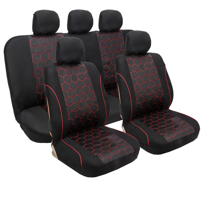 Housses de siège de voiture Set de protection de siège de voiture pour alfa romeo 156 giulietta brillance faw v5 byd s6 s7 changan cs35 chery tiggo 3 5 t11