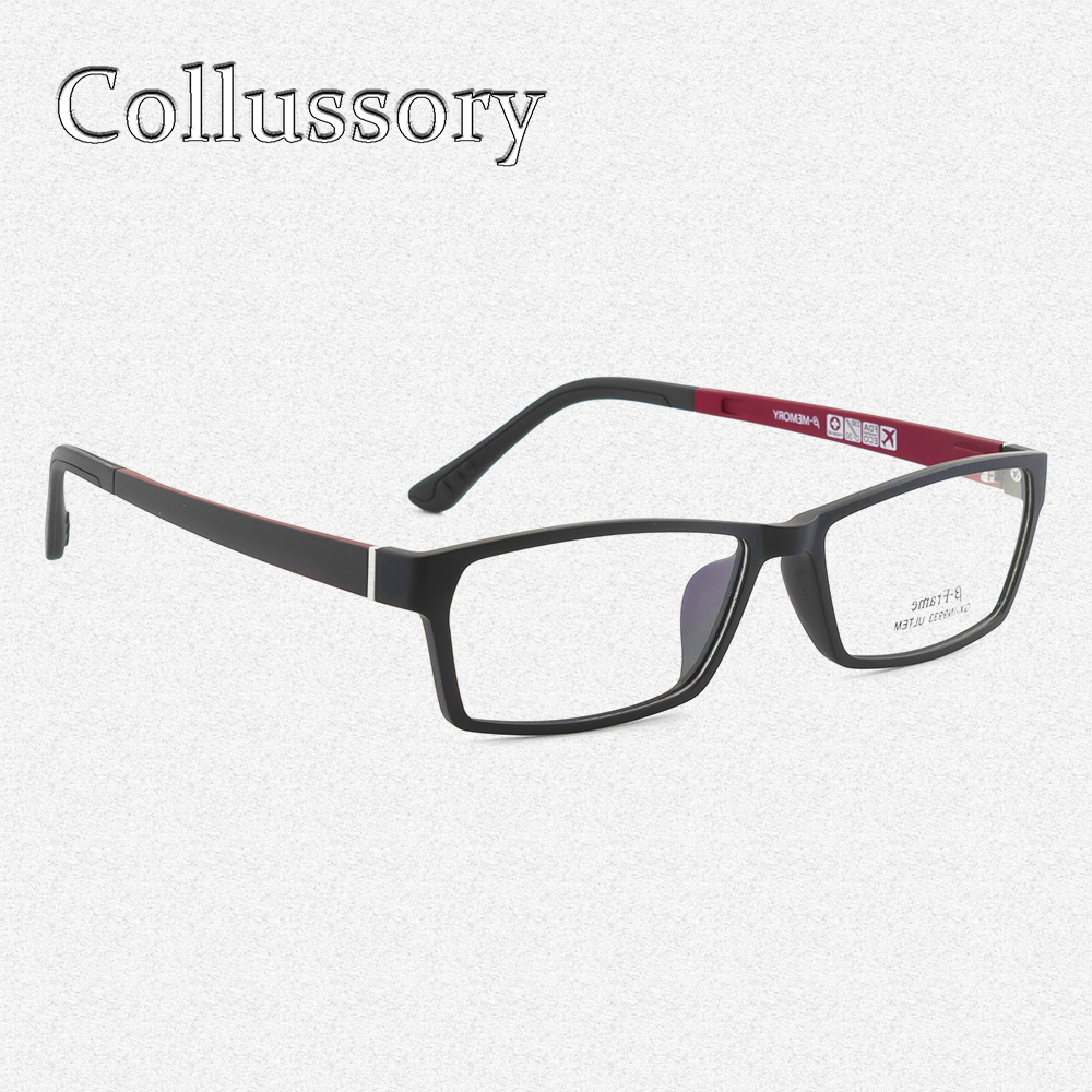 a27664c6ffef Detail Feedback Questions about Men Eyeglasses Frame Ultem Tungsten Optical  Eyewear Sport Style Prescription Reading Computer Goggles Flexible Light  Top ...