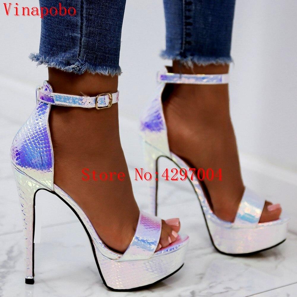 platform sandals high heels shoes women heels ankle strap heels lace up sandals women wedding shoes