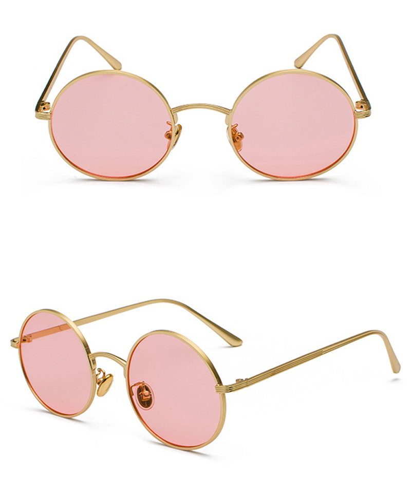 women sunglasses with red lenses detail (8)