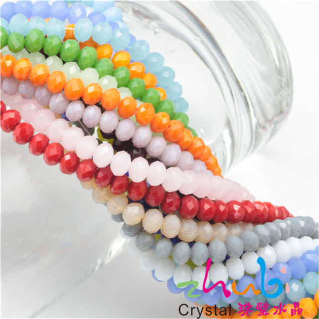 DIY Round Beads 2MM 195PCSLOT Crystal Rondelle Beads Jewellery