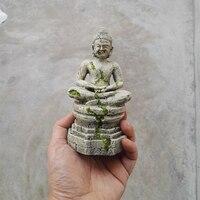Aquarium Decoration Ancient Buddha 9 8 5 17 5cm Fish Tank Crawler Insect Box Ornament