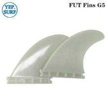 Hight Quality Fins Plastic Future surf G5 Light green color Fin 2pcs per set