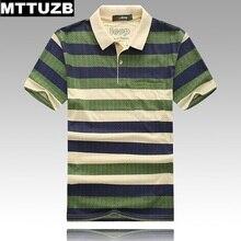 2017 MTTUZB men fashion colorful strip tops men's casual short sleeve polo shirts male tees clothes man clothes 3 colors