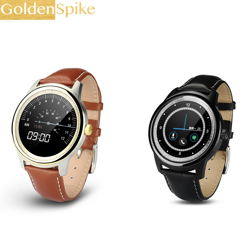 2017 NEW DM365 Bluetooth 4.0 Smart Watch 360*360 IPS full view & Leather Strap Pedometer Sleep Monitor Support Hebrew Turkish wt37 page 9