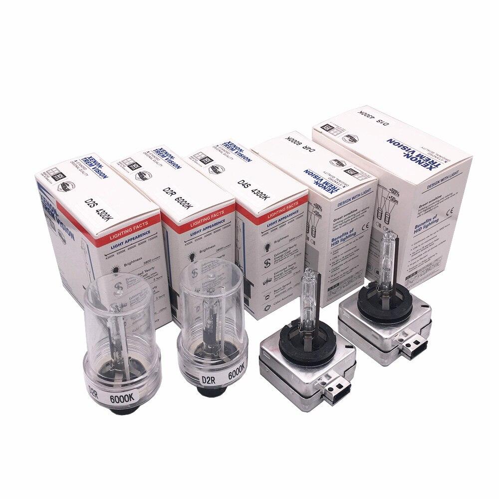 D2S Xenon Brenner LONG LIFE 12V 35W HID White Performance Line 2x Ersatzlampe
