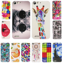 ZUCZUG for ZTE BLADE L6 Case 1MM Matte TPU Soft Silicon Luxury Pattern Slim Art Design Cartoon Painted animal Phone Case(China)