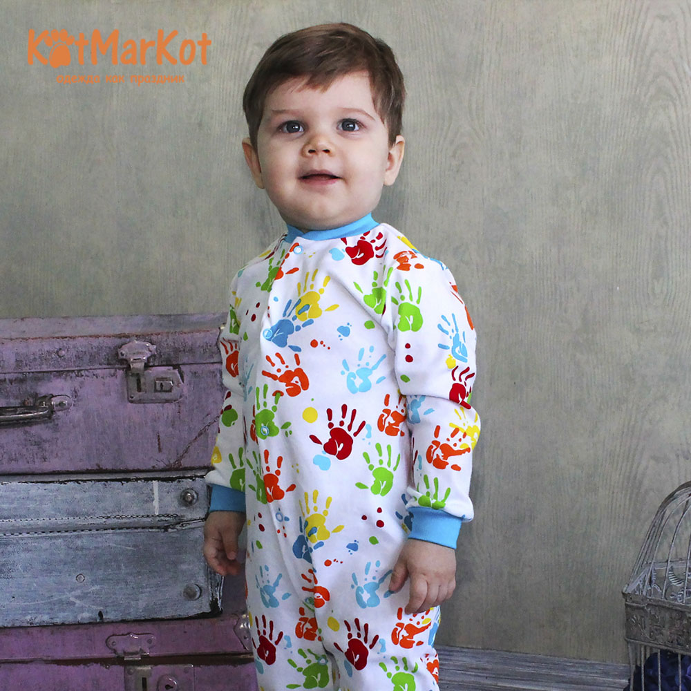 Rompers Kotmarkot 6895  overalls for newborn cat sotmarkets sandpiper baby clothes romper Cotton cat sotmarket Baby Boys Print