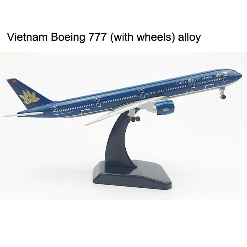 Vietnam Airlines Plane model Boeing 777 Airplane model 20CM B777 Aircraft model Alloy Metal Diecast Toy plane DROPSHIPPING STORE