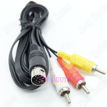 5pcs For Sega Saturn Game AV Cable Audio Video Cable TV Line Wire