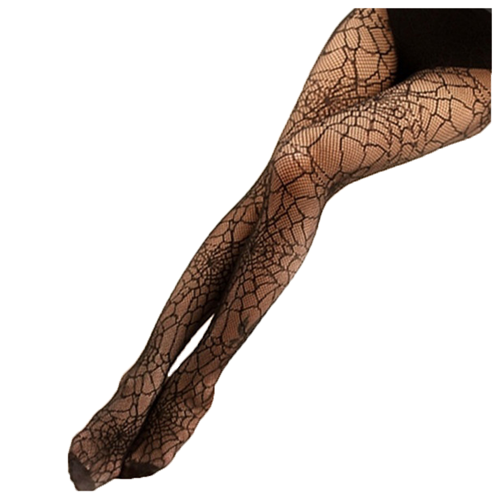 Hot Women Sexy Black Spider Web Fishnet Pantyhose Ladies Stockings Tights Sheer for girls