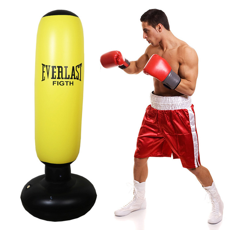 Fitness Inflatable Kids Punching Bag Stress Punch Tower