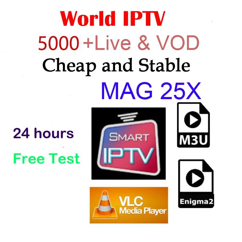 world iptv m3u mag vlc android box iptv