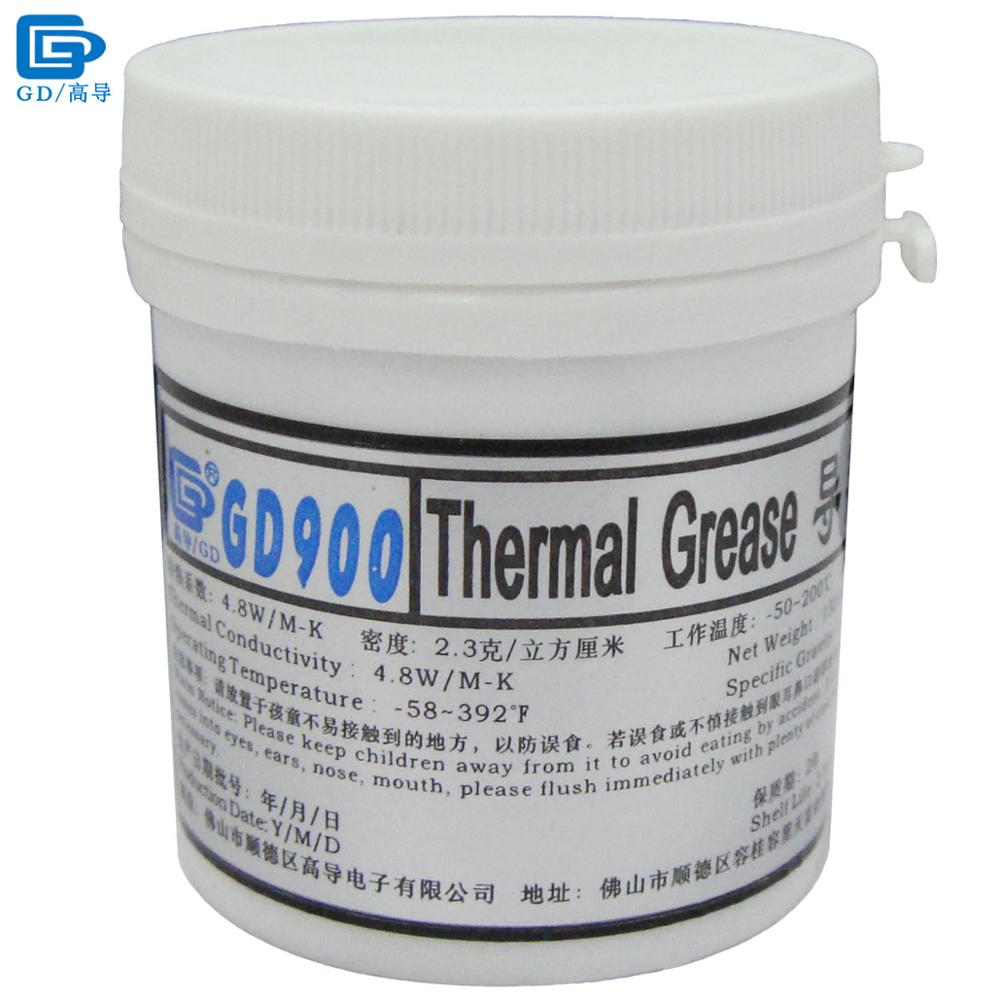 GD Brand Thermal Conductive Grease Paste Silicone Plaster GD900 Heat Sink Compound Net Weight 150 Grams High Performance CN150 gd900 thermal conductive grease paste silicone plaster heat sink compound 5 pieces high performance gray net weight 3 grams sy3