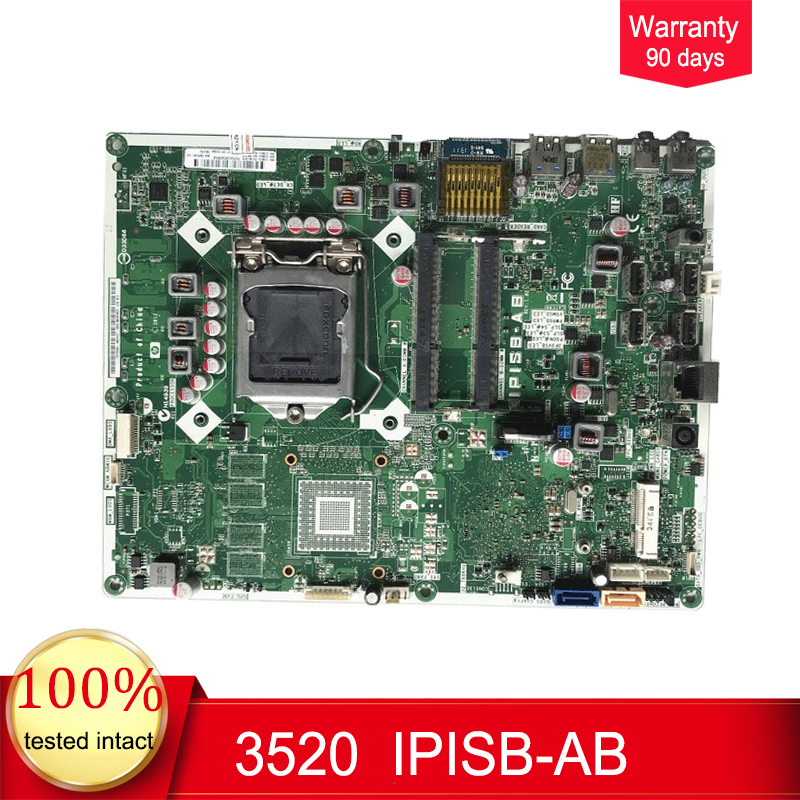 703643-001  For HP Pavilion 20 Pro 3520 AIO Motherboard 703643-501 IPISB-AB Mainboard 100%tested fully work703643-001  For HP Pavilion 20 Pro 3520 AIO Motherboard 703643-501 IPISB-AB Mainboard 100%tested fully work