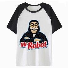 Mr Robot Mr. Robot camiseta kawaii graphic tops camiseta cartoon mujer ropa  harajuku camiseta femenina mujeres camiseta K4504 674acfe0d59