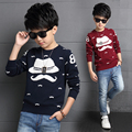 Children's clothing boys child sweater child autumn and winter casual sweater child baby o-neck pullover sweater