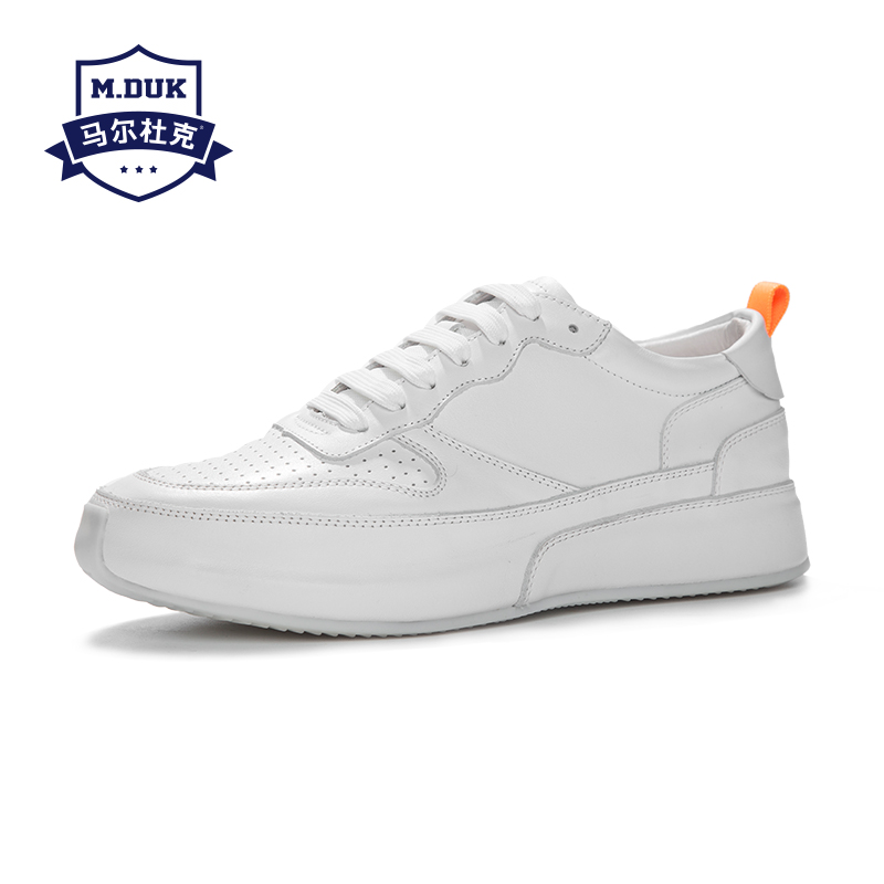 spring autumn summer white shoes men Genuine leather British retro all-match cowhide breathable sneaker men casual shoes male men s shoes spring and autumn summer all match cowhide breathable sneaker fashion boots men casual shoes genuine leather male