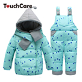 Winter Solid Cute Candy Color Baby Boy Girl Clothing Set Infant White Duck Parkas Children Coats Warm Soft Thick Snow Outerwear