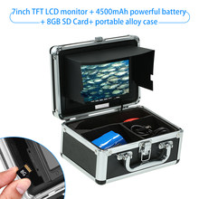 Underwater Camera Fish Finder Portable Alloy Case With 7'' LCD Video Monitor For Ice/Sea/River Fishing (Camera Not Included)(China)