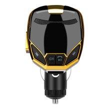 Беспроводной Bluetooth зарядное устройство fm-передатчик модулятор Автомобильный комплект MP3 музыкальный плеер G7 FM передатчик aux кабель дропшиппинг#0