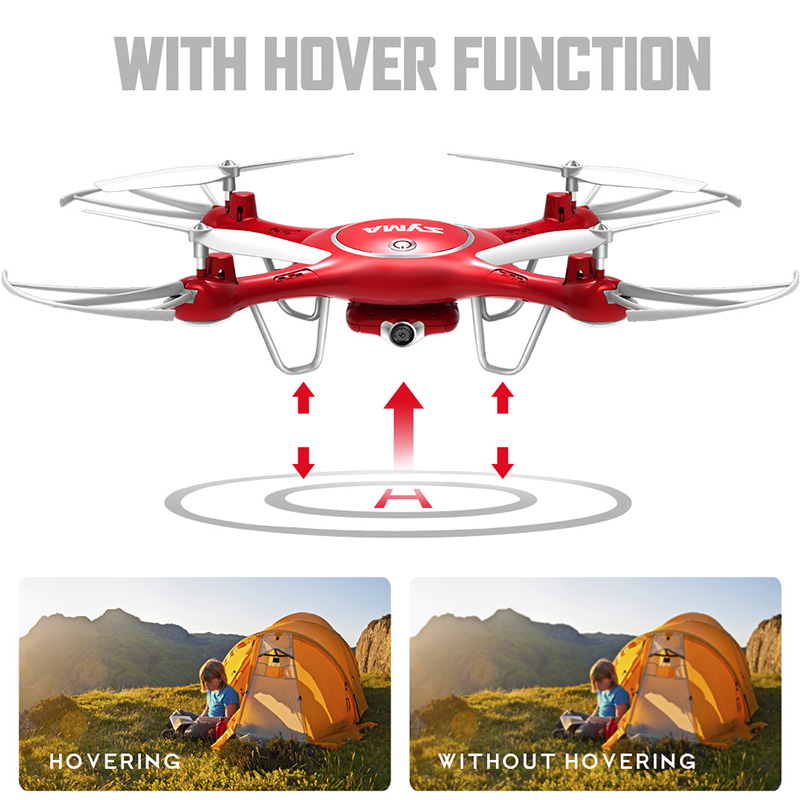 SYMA X5UW Drone with WiFi Camera HD 7P Real-time Transmission FPV Quadcopter 2.4G 4CH RC Helicopter Dron Quadrocopter Drones 10